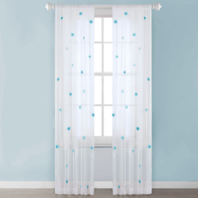 Taylor Sheer Rod-Pocket Curtain Panel