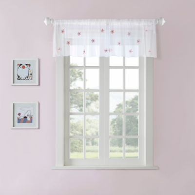 Taylor Sheer Rod-Pocket Valance