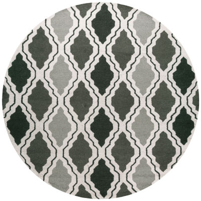 Rizzy Home Country Trellis Round Rugs