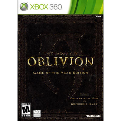 XBox 360 Elder Scrolls Iv Oblivion Video Game