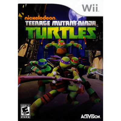Wii Teenage Mutant Ninja Turtles Video Game