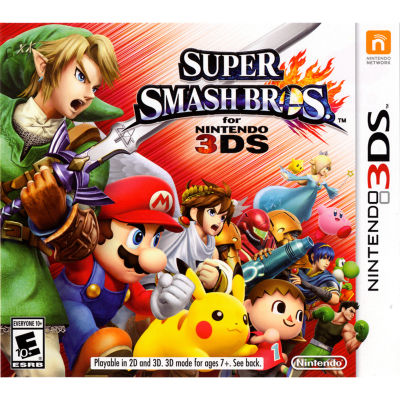 Nintendo 3DS Super Smash Bros. Video Game