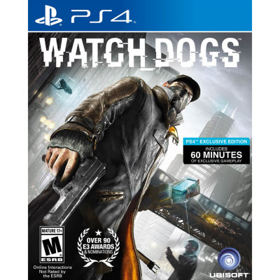 Playstation 4 Watch Dogs Video Game