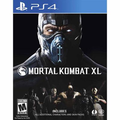 Playstation 4 Mortal Kombat Xl Video Game