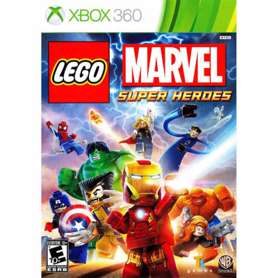 XBox 360 Lego Marvel Super Heroes Video Game
