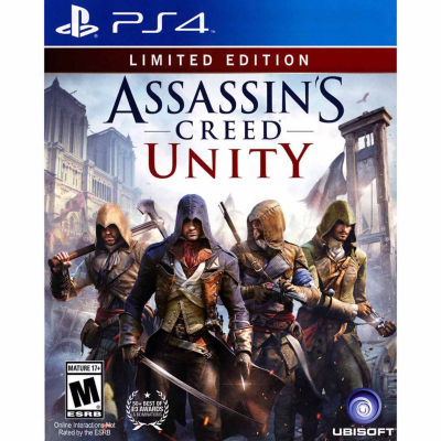 Playstation 4 Assassins Creed Unity Le Video Game
