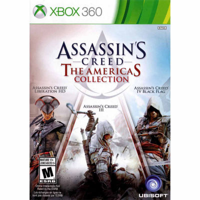 XBox 360 Assassins Creed Americas Video Game