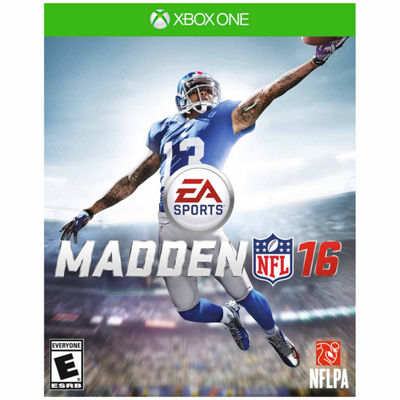 XBox One Madden Nfl 16 Video Game
