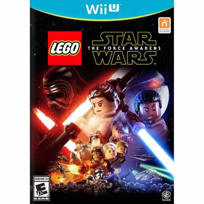 Wii U Lego Star Wars Force Awakens Video Game