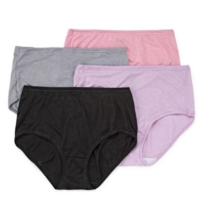 Hanes Cool Comfort™ Comfortsoft™ 4 Pair Brief Panty 47husb