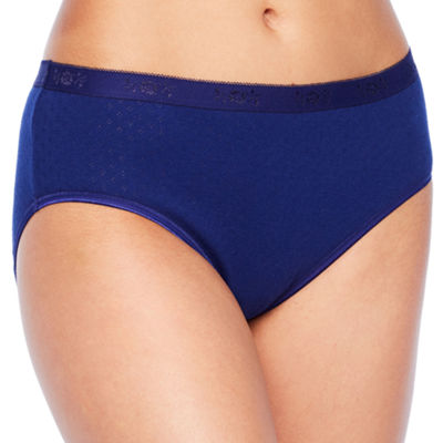 Underscore Pointelle Cotton Knit Hipster Panty