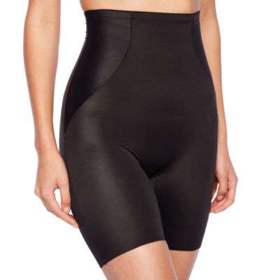 Naomi And Nicole Shapes Your Curves® Wonderful Edge® Hi-Waist Firm Control Thigh Slimmers - 7349