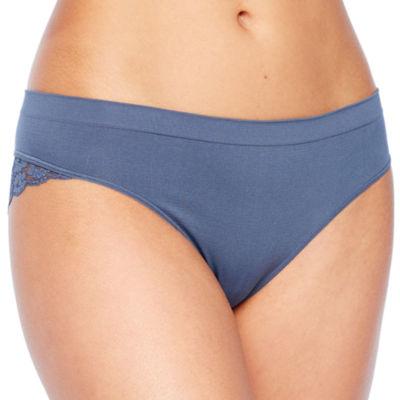 Ambrielle® Seamless Lace Cheeky Panty