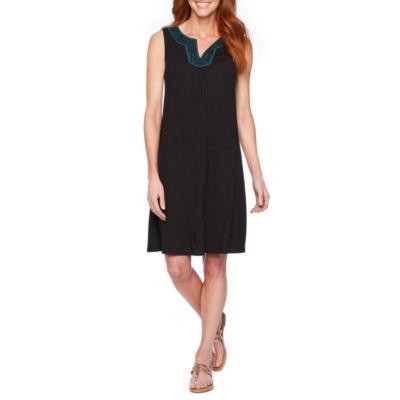 St. John's Bay Sleeveless Shift Dress