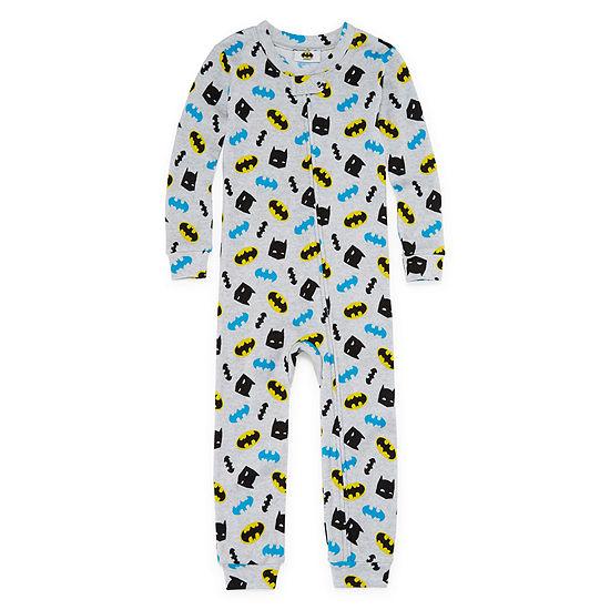 Boys Knit One Piece Pajama Batman