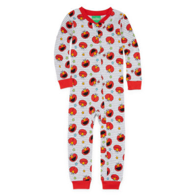 Sesame Elmo Sesame Street One Piece Pajama-Toddler Boys
