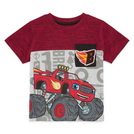 Blaze Blaze and The Monster Machines Graphic T-Shirt-Toddler Boys