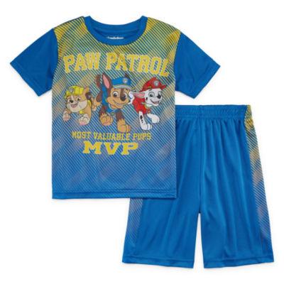 2-pc. Paw Patrol Short Set Toddler Boys