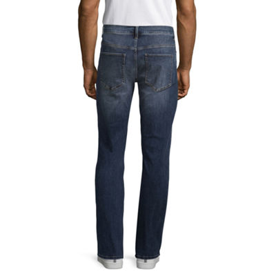 St. John's Bay Mens Stretch Slim Fit Jean-Slim