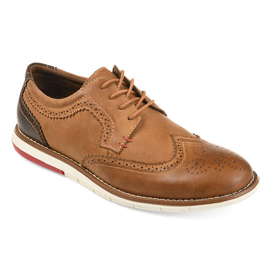 Vance Co Mens Drake Oxford Shoes Wing Tip