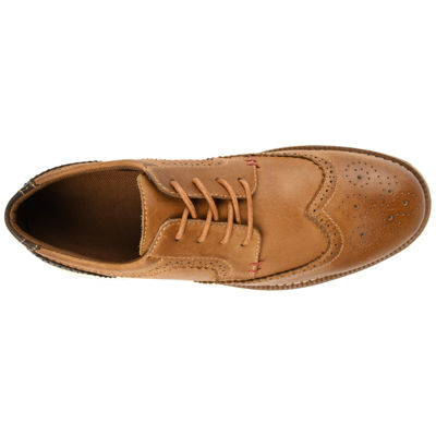 Vance Co Mens Drake Oxford Shoes Lace-up Wing Tip