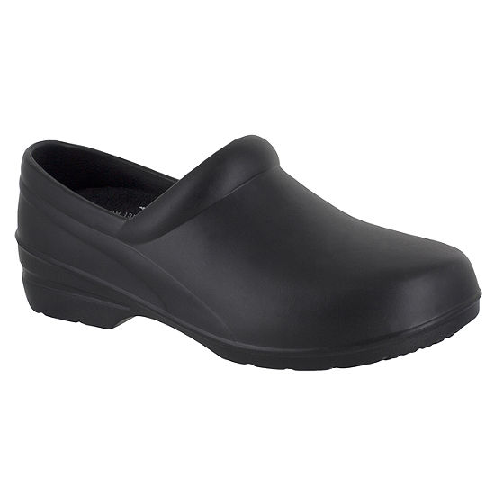 Easy Works By Easy Street Womens Kris Clogs Slip-on Round Toe