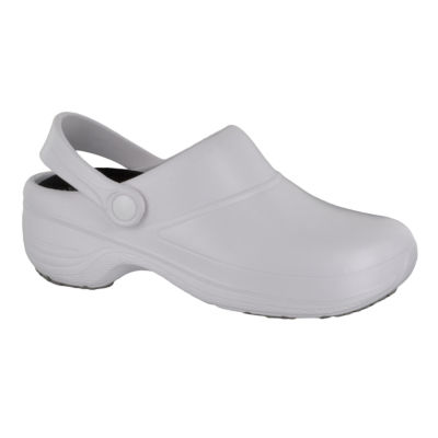Easy Works By Easy Street Time Womens Clogs Slip-on Round Toe