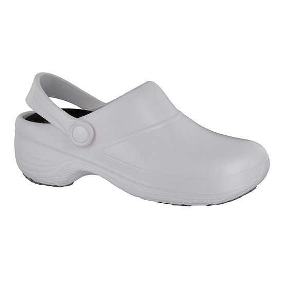 Easy Works By Easy Street Womens Time Clogs