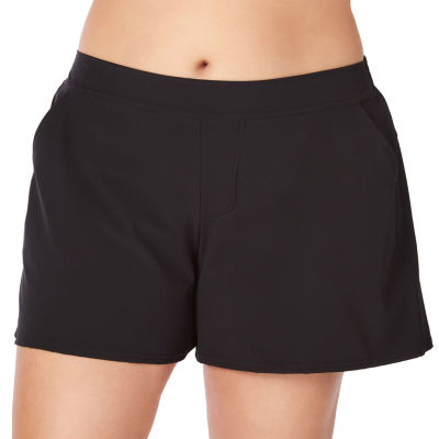 St. John's Bay Swim Shorts Plus