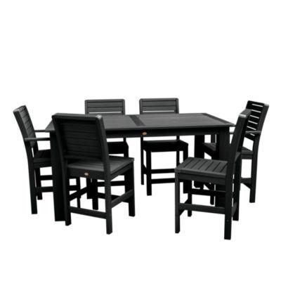 Highwood® Weatherly 7-pc. Rectangular Counter Height Dining Set