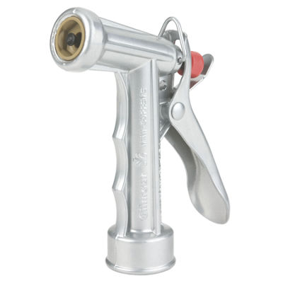 Gilmour 564 Mid-Size Zinc Pistol Grip Nozzle WithPolymer Stem