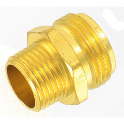 "Gilmour 7MH7MH 3/4"" X 3/4"" Brass Connectors"""