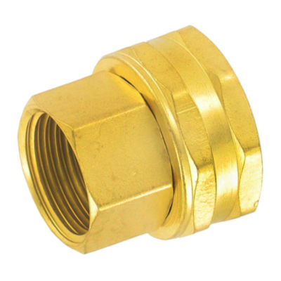 """Gilmour 7FPS7FH 3/4"""" X 3/4"""" Brass Connector"""""""