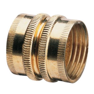 "Gilmour 7FHS7FH 3/4"" Double Female Swivel Brass Connector"""