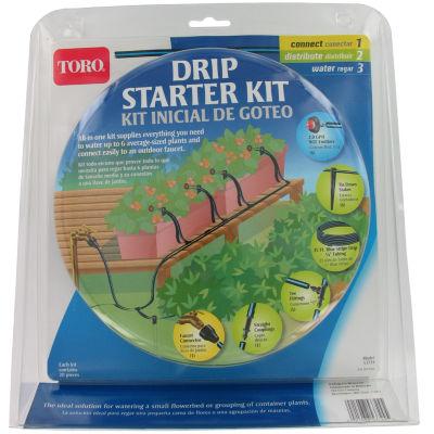 Toro 53724 Blue Stripeª Drip Starter Kit