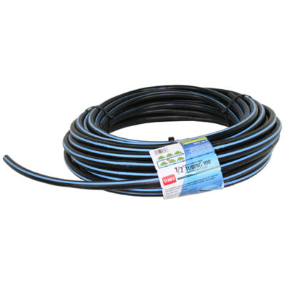 "Toro 53618 100' Roll 1/2"" Blue Stripeª Drip Tubing With Emitters"""