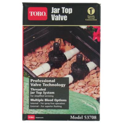 """Toro 53708 1"""" In-Line Jar Top Valve"""""""