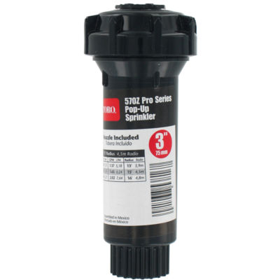 "Toro 53817 3"" 360¡ 570Zª Pro Series Pop-Up FixedSpray With Nozzle"""