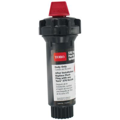 "Toro 53820 3"" 570Zª Pro Series Pop-Up Body Only Sprinkler W/Flush Plug"""