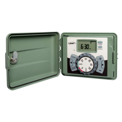 Orbit 57896 6 Station Outdoor Swing Panel Timer