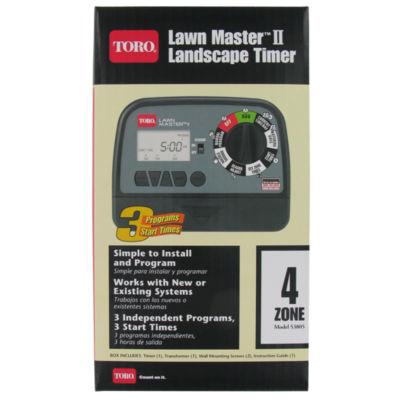 Toro 53805 4 Zone Lawn Masterª II Landscape Timer