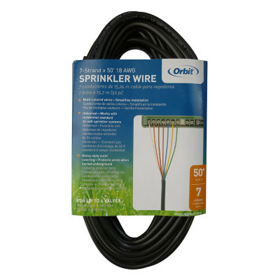 Orbit 57092 50' UF/UL Sprinkler Wire