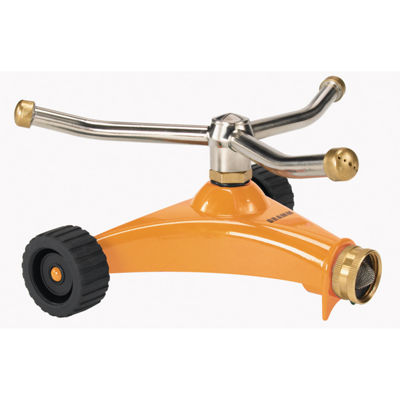 Dramm 10-15052 Orange ColorStormª 3 Arm WhirlingSprinkler