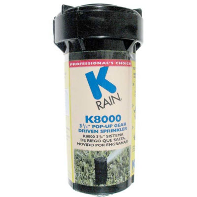 "K Rain 81031 K8000 3-3/4"" Pop-Up Gear Drive Sprinkler"""