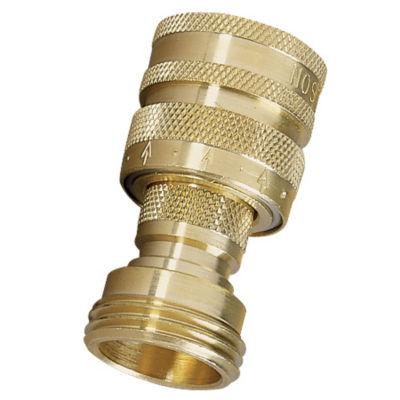 Nelson 50336 Brass Quick Connector Set