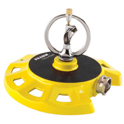 Dramm 10-15073 Yellow ColorStorm Spinning Sprinkler