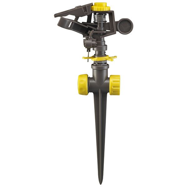 Nelson 50200 Pulsating Circular Spray Sprinkler With Plastic Spike Base