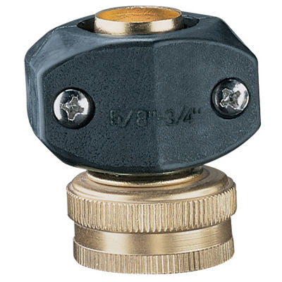 "Nelson 50431 5/8"" & 3/4"" Brass & Nylon Female HoseRepair"""