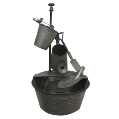 "Alpine Corporation YHL106 28"" Garden Tools Fountain"""