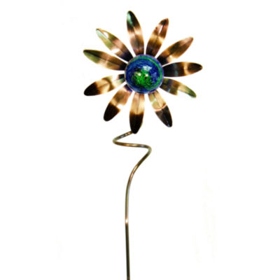 "Echo Valley 34"" Illuminarie Sunflower Stake"